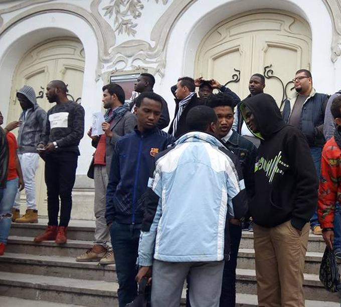 Les étudiants subsahariens privés de visa d'études en T...