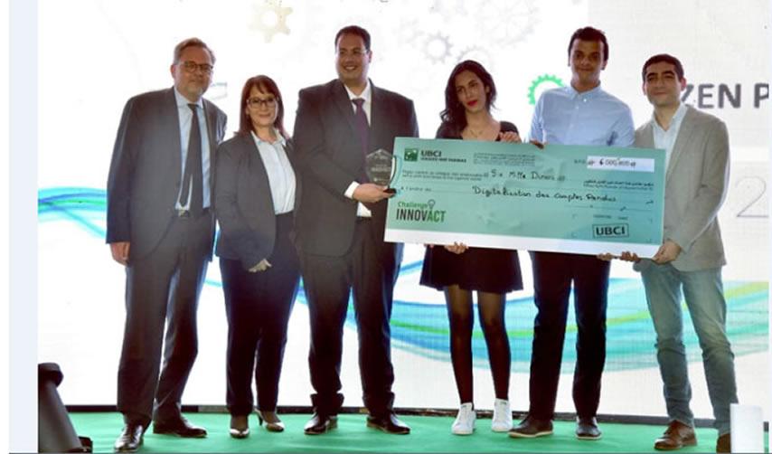 La 2ème édition du Challenge INNOVACT by UBCI récompens...
