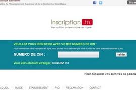 Démarrage de l'inscription universitaire, en ligne