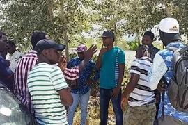 Des étudiants guinéens manifestent contre le non-paieme...