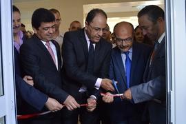 Inauguration du Pôle de l'Entrepreneuriat-Etudiant à l'...
