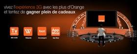 """Le contenu 3G gratuit d'orange avec """"Les plus d'orange"""""""