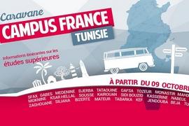 Une caravane de Campus France Tunisie sillonnera toutes...